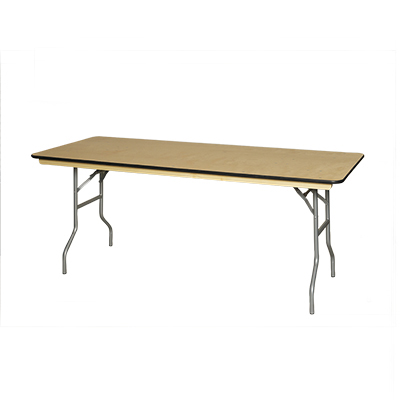 4', 6' and 8'  Rectangle Table - Seats 6 to 8 to 10 People 30