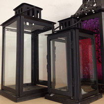 Lanterns can be rented for a rustic lighting option from All Occasion Rentals