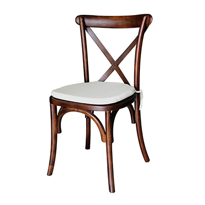 Chestnut Cross Back Chair