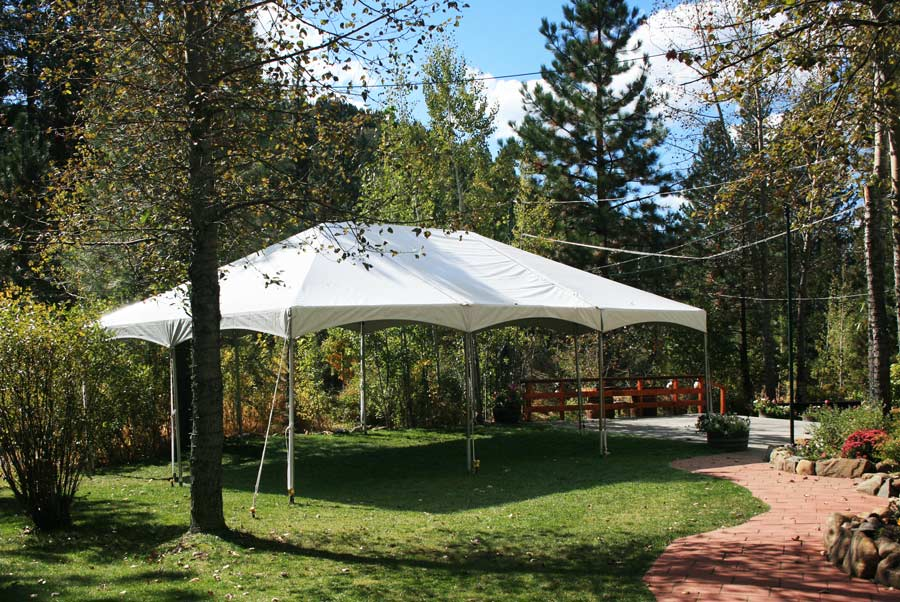 Tent Rental Wedding Reception