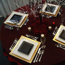 twitter & Plates From Modern To Traditional Designs | All Occasion Rentals