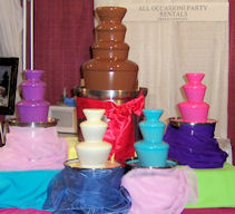 Chocolate Fountains Galore