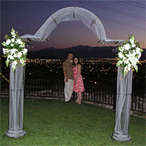Natural Iron Arch White Iron Arch = Call for updated picture 775-828-4999
