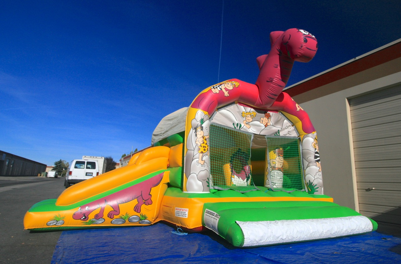 Dino the Bouncer for Rent for Kids Birthday Parties