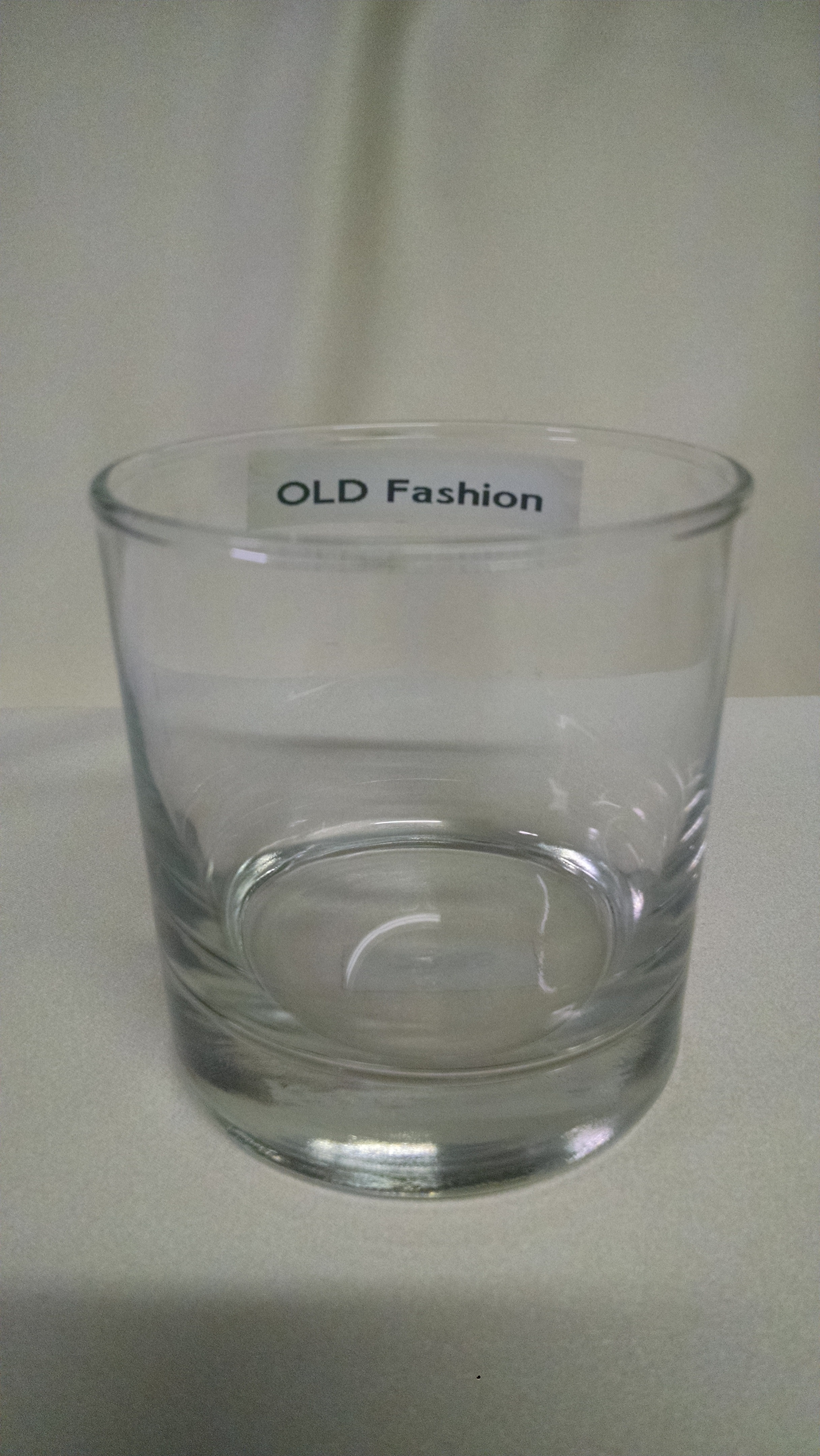 Smooth Side Old Fashion Wine Glass Ror Rent