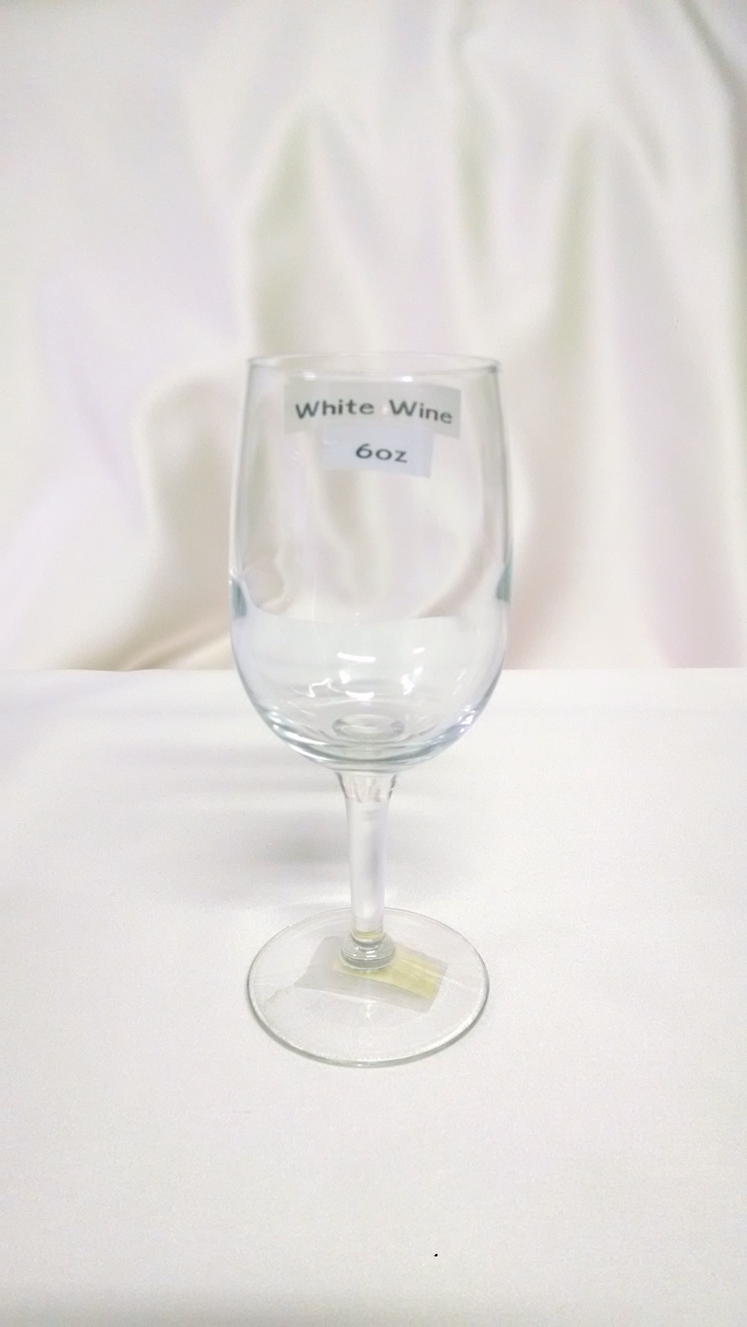 White Wine Glass 6 ounce For Rent