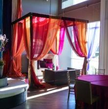 Multi Colored mandap in Reno for Rent - Indoors and Outdoors