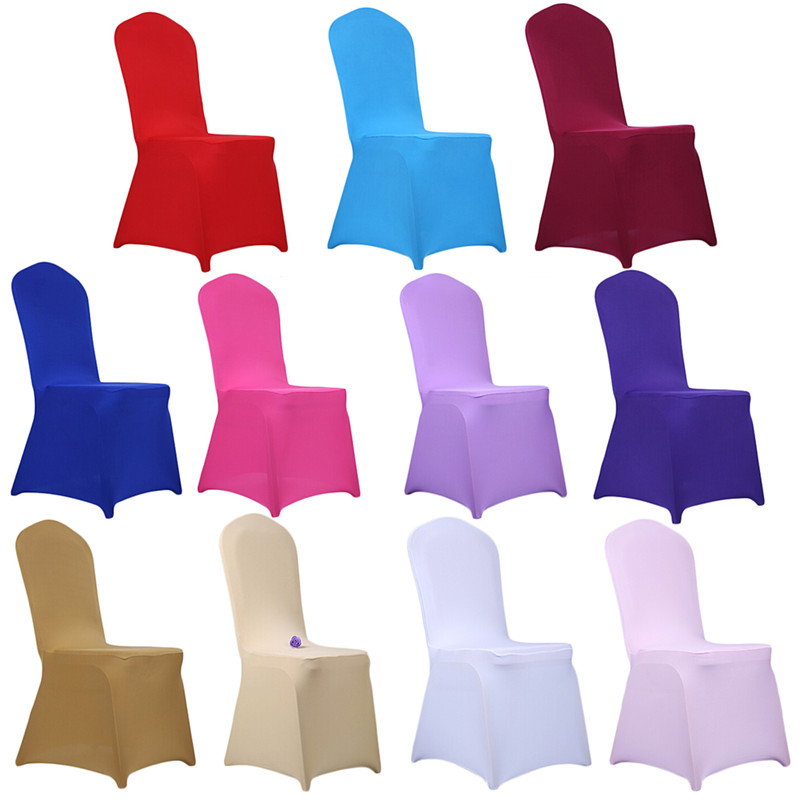 Colorful Chair Covers add