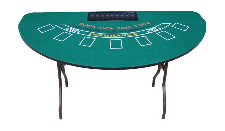 Black Jack 21 Table
