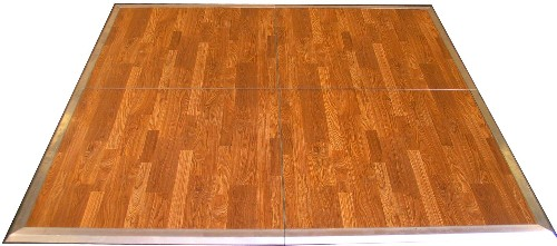20' x 20' Gorgeous Plank New England Wooden Dance Floor