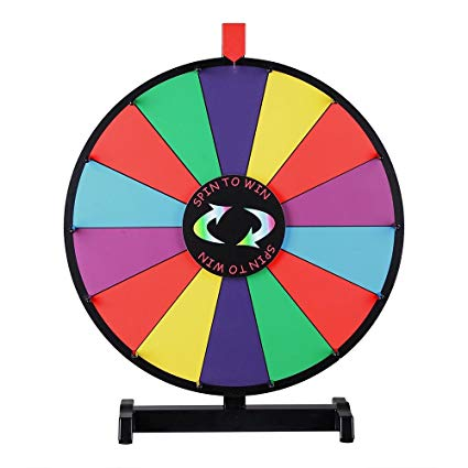 Spinning Prize Wheels Large 36