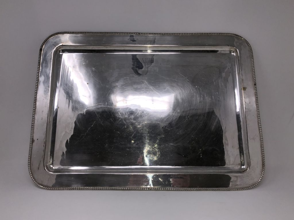 Sterling Silver Rectangle Tray