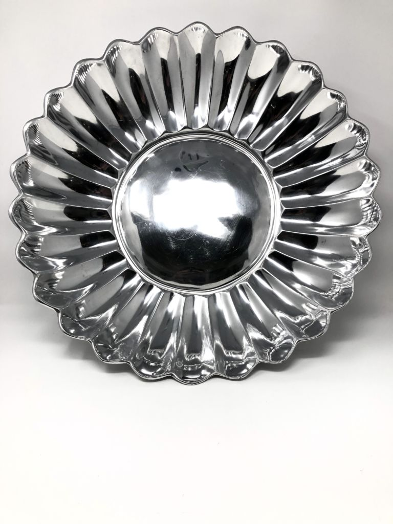 XL Silver Serving Tray